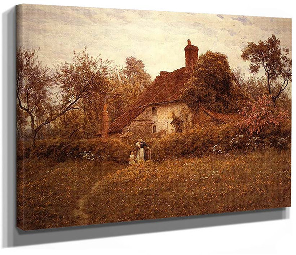 Cottage At Pinner By Helen Allingham