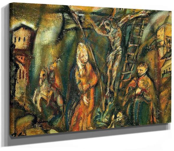 Crucifixion Golgotha 1912 By Oskar Kokoschka