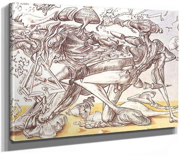 Dali Combat By Salvador Dali