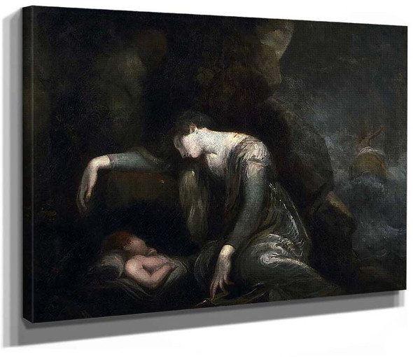 Danae And Perseus On Seriphos By Henry Fuseli