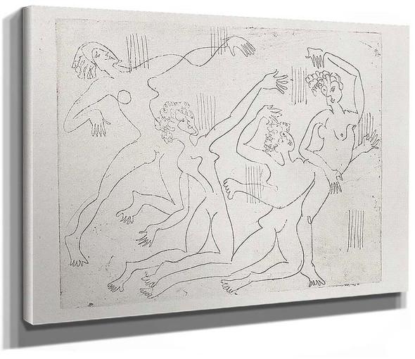 Dance Shool By Ernst Ludwig Kirchner