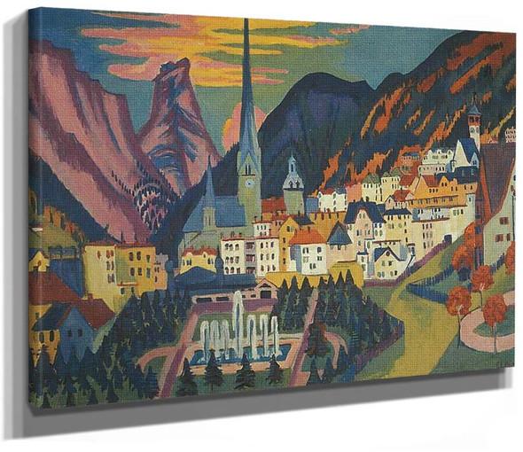 Davos In Summer By Ernst Ludwig Kirchner