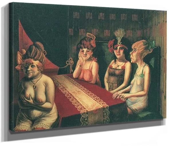 Der Salon I By Otto Dix