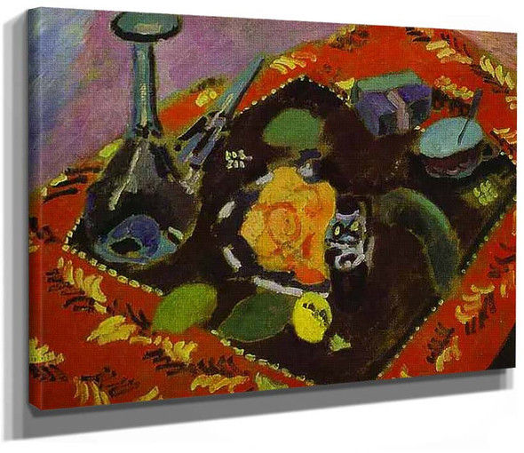 Dishes And Fruit 1906 By Henri Matisse