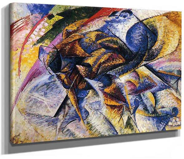 Dynamism Of A Cyclist 1913 By Umberto Boccioni