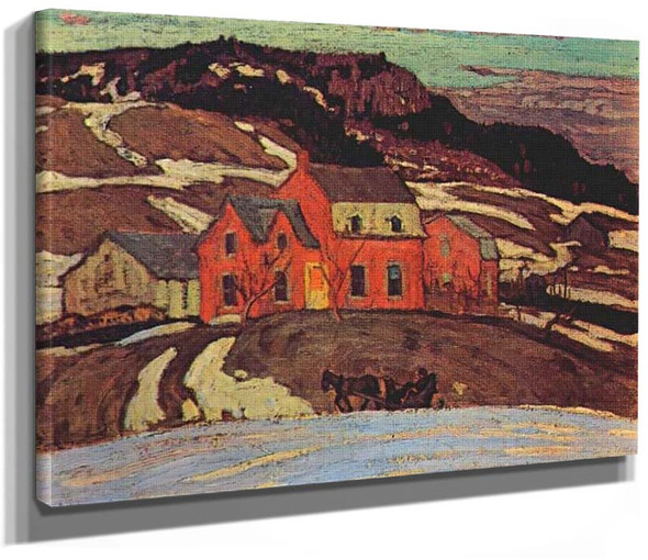 Early Spring Quebec 1923 By Jackson A Y