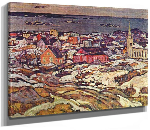 Entrance To Halifax Harbour 1919 By Jackson A Y