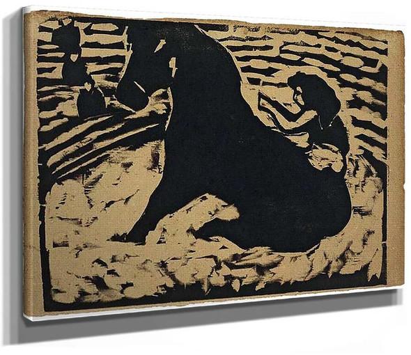 Equestrienne By Ernst Ludwig Kirchner