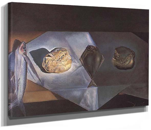 Eucharistic Still Life By Salvador Dali