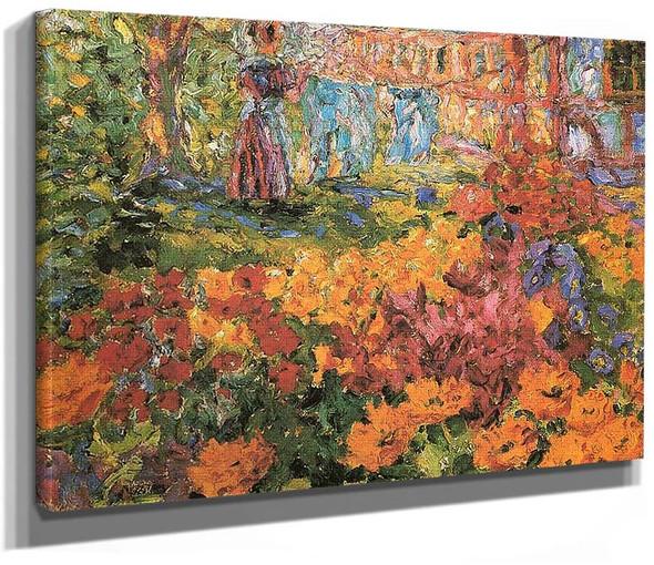 Flower Garden 1908 By Emil Nolde