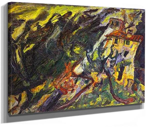 Gorge De Loup Sur Vence By Chaim Soutine