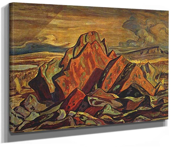 Hills At Great Bear Lake 1953 By Jackson A Y