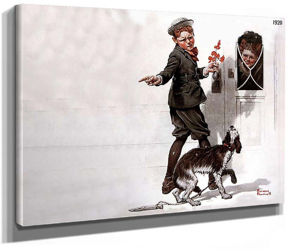 Is He Coming By Norman Rockwell