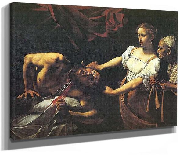 Judith Beheading Holofernes By Caravaggio
