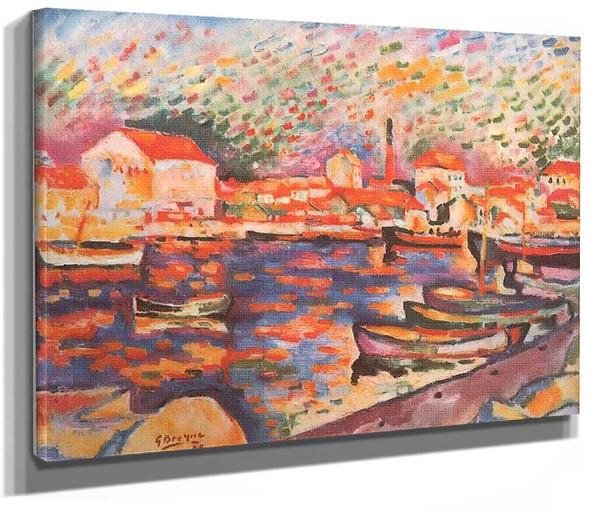 La Ciotat Harbor 1906 By Georges Braque
