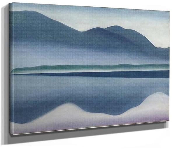 Lake George Formerly Reflection Seascape By Georgia O Keeffe