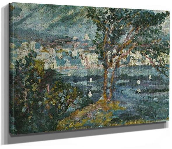 Landscape Cadaques 1920 By Salvador Dali
