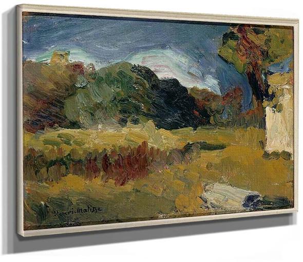 Landscape Of Corsica By Henri Matisse