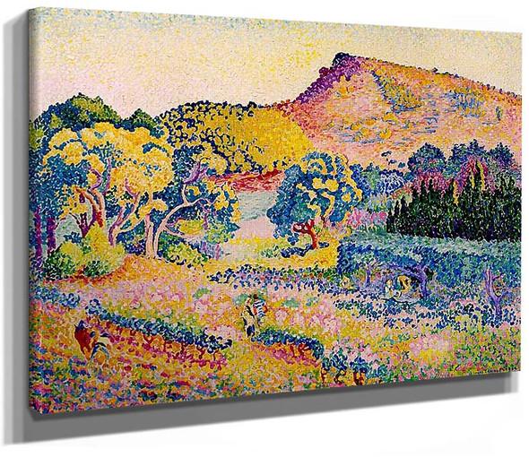 Landscape With Cape Negre By Henri Edmond Cross