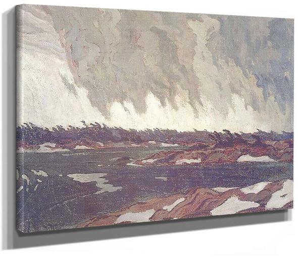March Storm Georgian Bay 1920 By Jackson A Y
