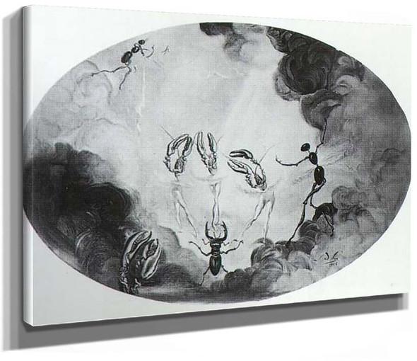Metamorphosed Women By Salvador Dali
