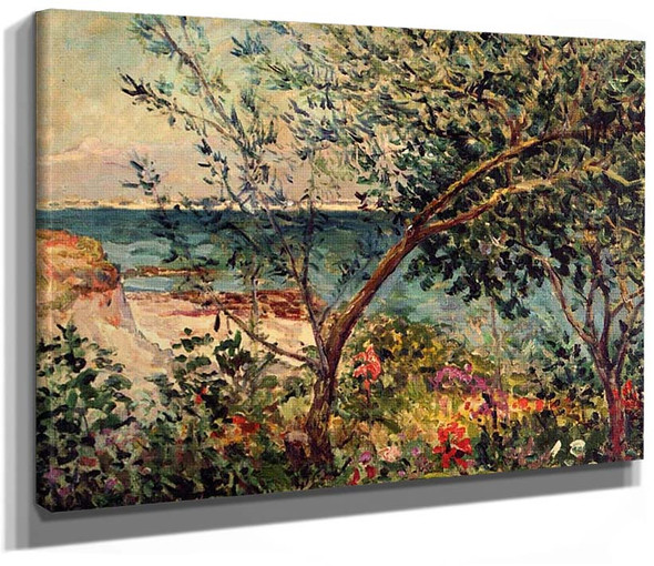 Monsieur Maufra By S Garden By The Sea By Maxime Maufra