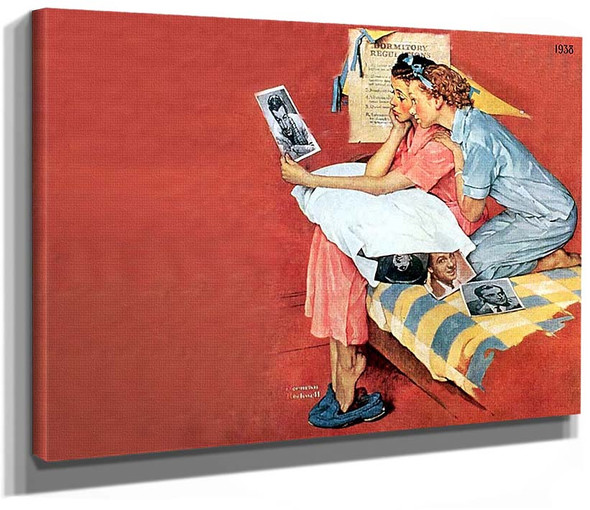Movie Star By Norman Rockwell