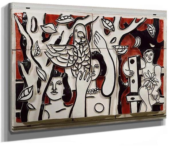 Mural 1951 By Fernand Leger