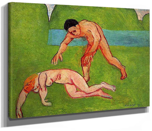 Nymph And Satyr 1909 By Henri Matisse