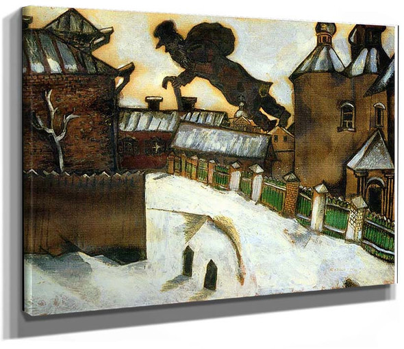 Old Vitebsk 1914 By Marc Chagall