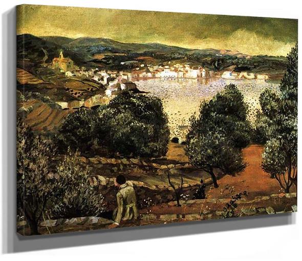 Olive Trees Landscape At Cadaques By Salvador Dali
