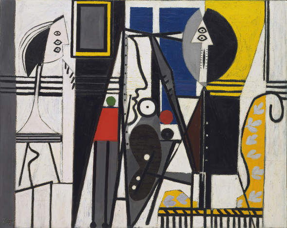 Painter And His Model 1928 By Pablo Picasso