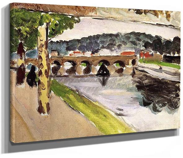 Parade Platanes 1917 By Henri Matisse