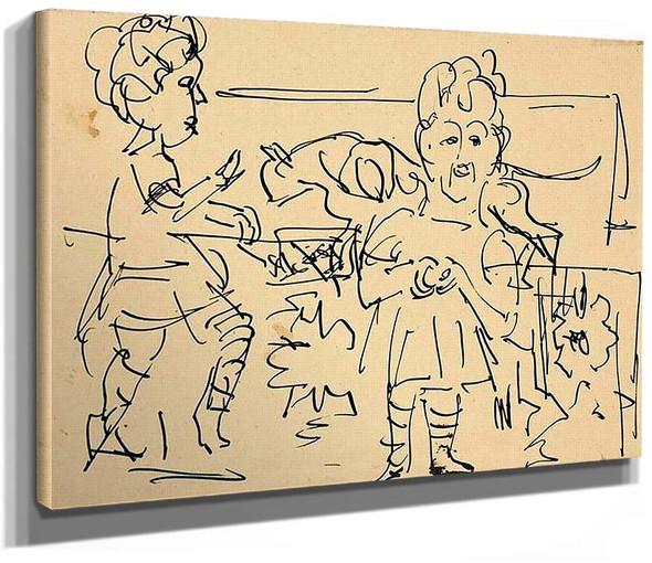 Playing Children By Ernst Ludwig Kirchner