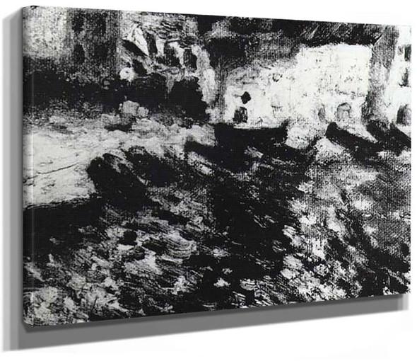 Port Dogue Cadaques By Salvador Dali