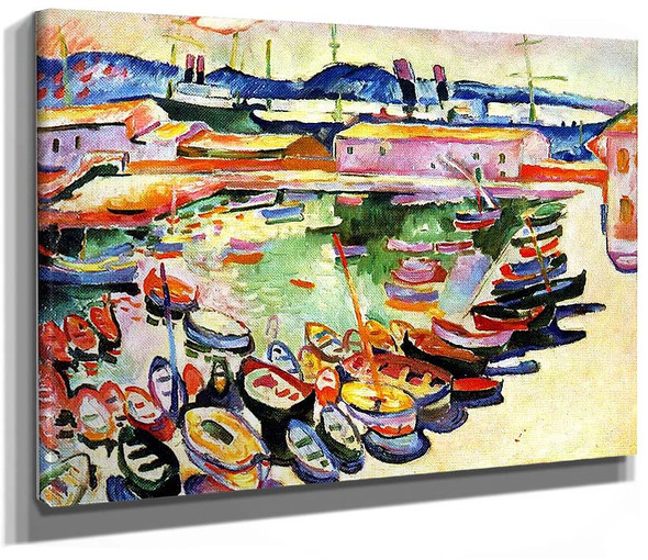 Port Of La Ciotat 1907 By Georges Braque