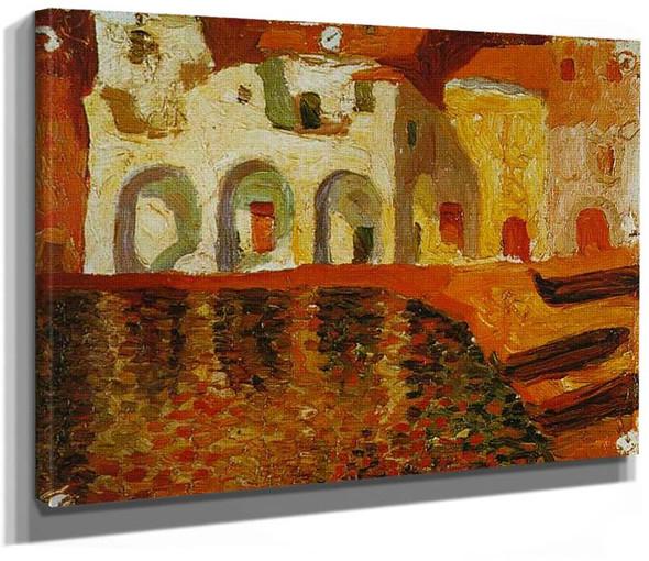 Portdogue 1919 By Salvador Dali