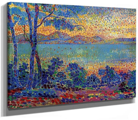 Provence Landscape1 By Henri Edmond Cross