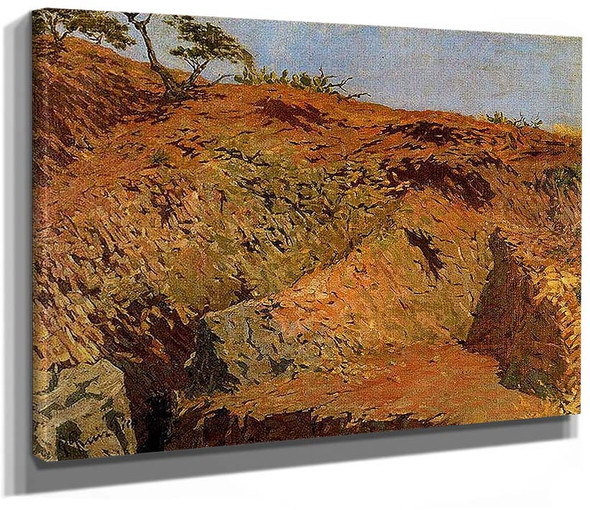 Quarries 1896 By Pablo Picasso
