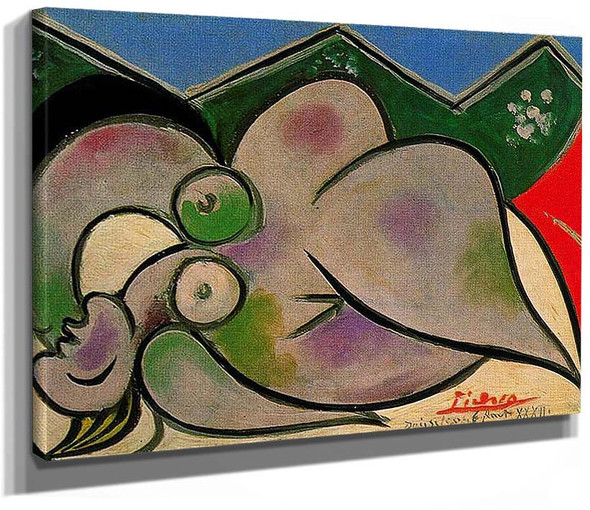 Reclining Nude 1932 By Pablo Picasso