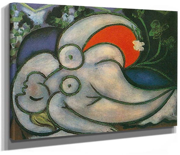 Reclining Nude3 By Pablo Picasso