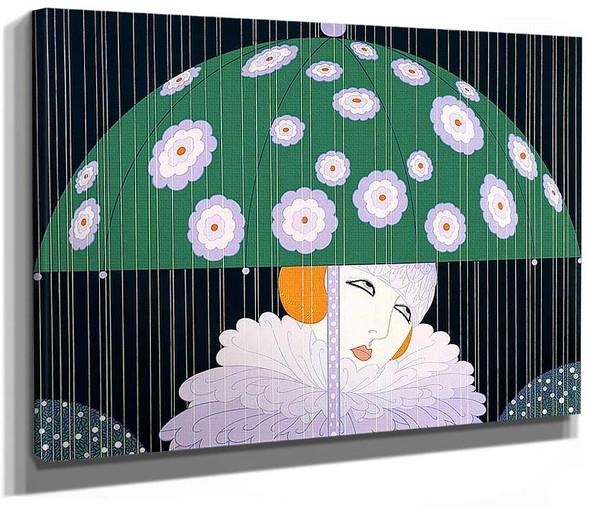 Spring Rain By Erte