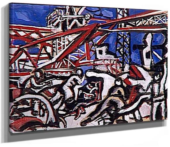Stalingrad 2 By Fernand Leger