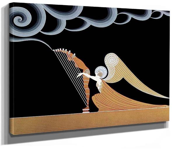 The Angel By Erte