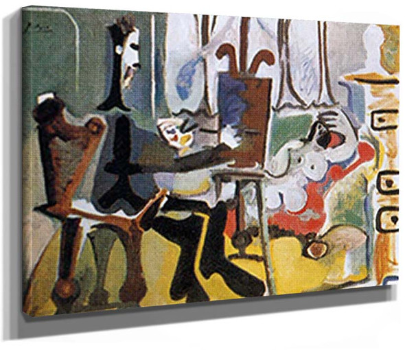 The Artist And His Model 9 By 2 By Pablo Picasso