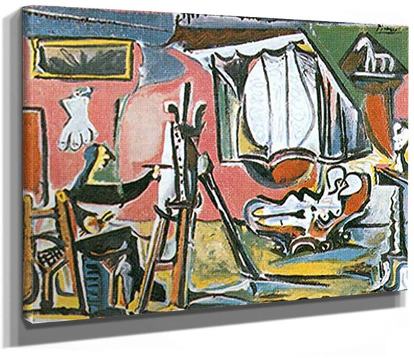 The Artist And His Model By Pablo Picasso By 1