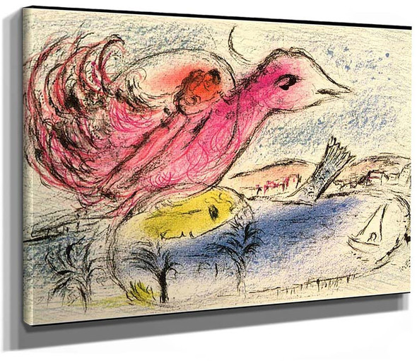 The Bay 1962 By Marc Chagall
