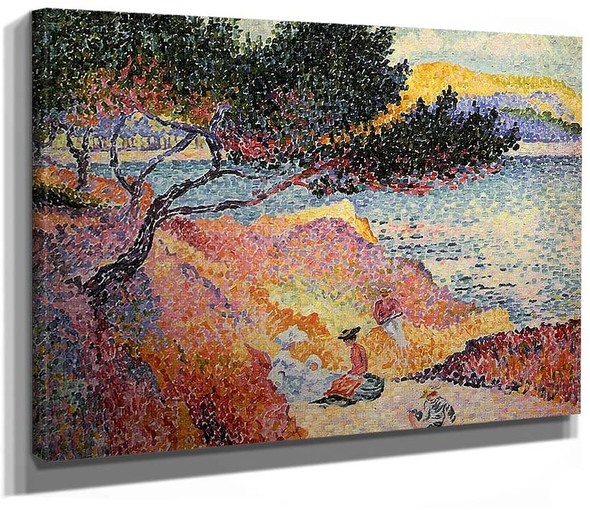 The Bay At Cavaliere By Henri Edmond Cross