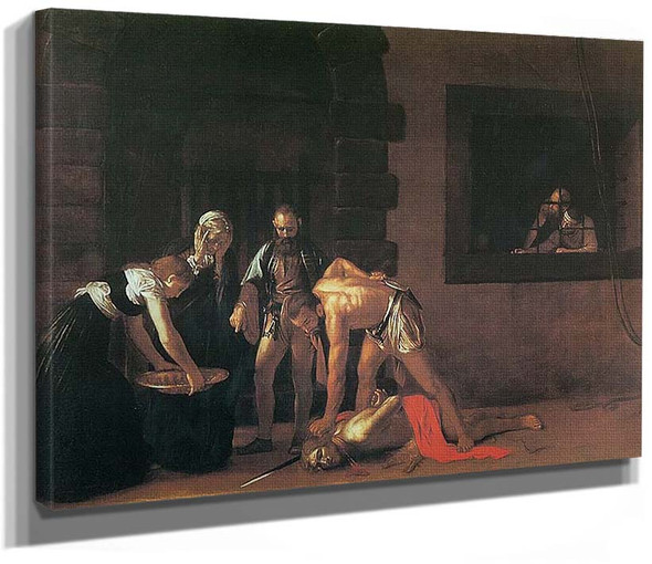 The Beheading Of St John The Baptist By Caravaggio