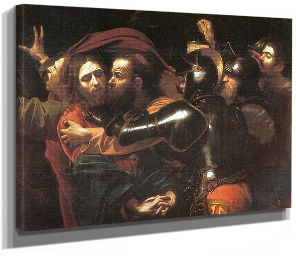 The Betrayal Of Christ By Caravaggio